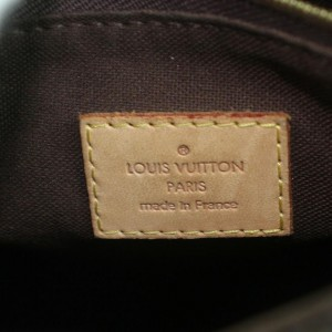 Louis Vuitton Monogram Menilmontant PM Crossbody Messenger Bag 862535
