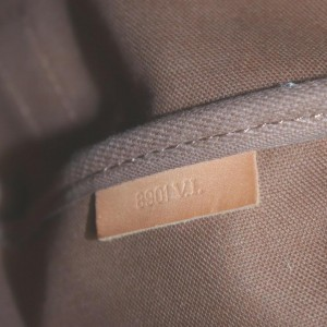 Louis Vuitton Monogram Saumur 35 Crossbody Saddle Messenger Bag  862115