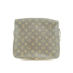 Louis Vuitton Monogram Cartouchiere Crossbody 8LK1226