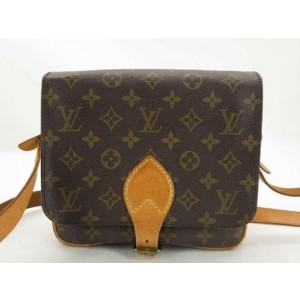 Louis Vuitton Monogram Cartouchiere MM Crossbody Flap Bag Cult Sierre 861698