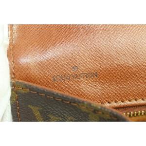 Louis Vuitton Monogram Dame GM Envelope Clutch 217lvs55