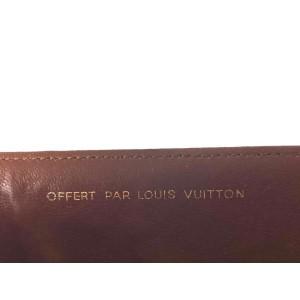 Louis Vuitton Monogram Folder Document Cover Holder 9l613