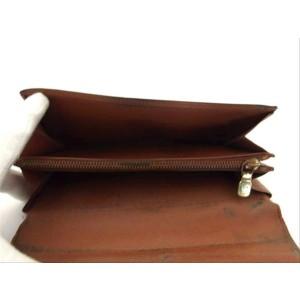 Louis Vuitton Monogram Bifold Sarah Long Wallet 217435