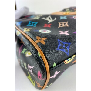 Louis Vuitton Black Monogram Murakami Multicolor Eye Love You Sac Retro GM 857884