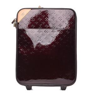 Louis Vuitton Monogram Vernis Amarante Pegase 45 Rolling Carryon Trolley