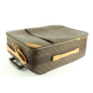Louis Vuitton Monogram Pegase 55 Rolling Luggage Trolley 2LVA121
