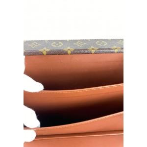 Louis Vuitton Monogram President Classeur Attache Briefcase 861882