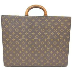 Louis Vuitton Monogram President Classeur Attache Hard Trunk Case 863216
