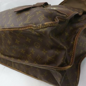 Louis Vuitton  Monogram Sac Chasse Hunting Garment Travel Bandouliere Bag  862324