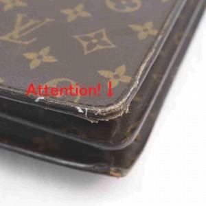 Louis Vuitton Monogram Serviette Conseiller Attache Briefcase 860837