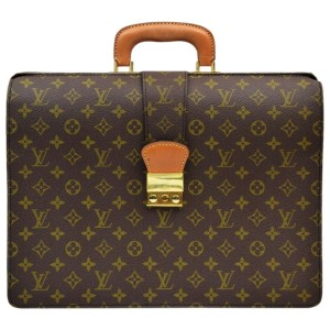 Louis Vuitton Monogram Serviette Fermoir Attache Briefcase 862944