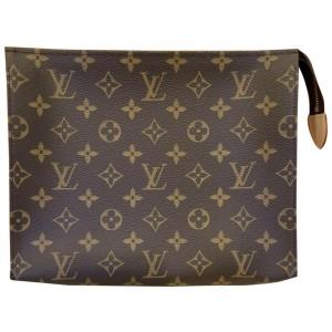 Louis Vuitton Large Monogram Toiletry Pouch 26 Toilette Poche Clutch 861440