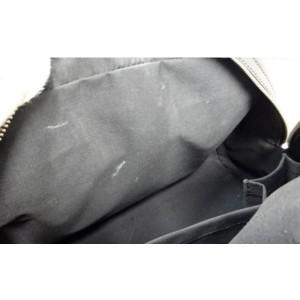 Louis Vuitton Black Epi Noir Montaigne PM Bowler 860764