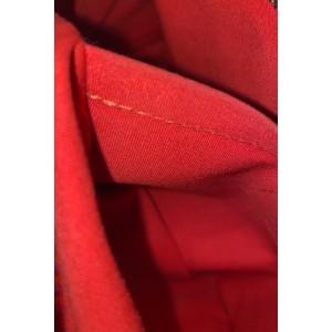 Louis Vuitton Red Epi Leather  Montaigne PM Bowler Speedy  858093
