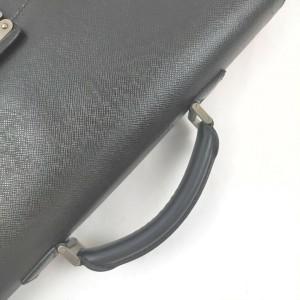 Louis Vuitton Black Taiga Leather Moskova Attache Briefcase 861253