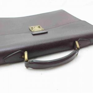 Louis Vuitton Bordeaux Taiga Leather Moskova Briefcase Attache 861514