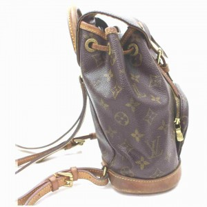 Louis Vuitton Monogram Mini Moyen Montsouris Backpack PM 861563