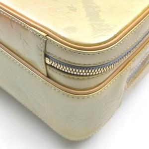 Louis Vuitton Green-Gold Monogram Vernis Mini Murray Backpack 862606