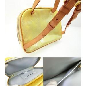Louis Vuitton Green-Yellow Monogram Vernis Murray Mini Backpack 235740