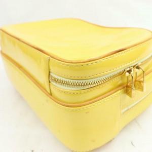 Louis Vuitton Yellow Monogram Vernis Murray Mini Backpack 871083