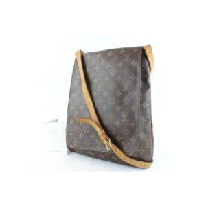 Louis Vuitton Musette Salsa Monogram Gm 14lz1129 Brown Coated Canvas Messenger Bag