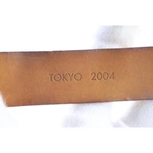 Louis Vuitton (ULTRA RARE) Vachetta 2004 Poignet 2LR0611