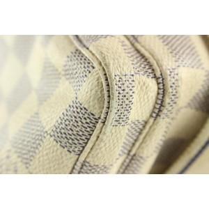 Louis Vuitton Damier Azur Naviglio Crossbody Messenger Bag 622lvs316