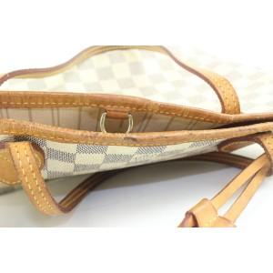 Louis Vuitton Damier Azur Neverfull MM Tote bag 120lvs429