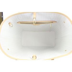 Louis Vuitton Peach Mist Brume Neverfull MM Tote Bag 146lvs430