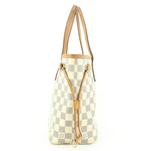 Louis Vuitton Small Damier Azur Neverfull PM Tote Bag 566lvs311
