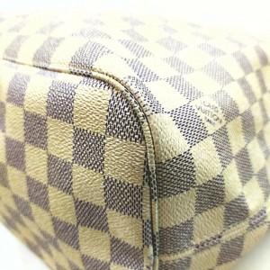Louis Vuitton Damier Azur Neverfull MM Tote Bag  862395