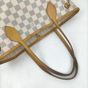 Louis Vuitton Damier Azur Neverfull PM Tote Bag 862188