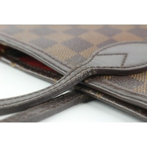 Louis Vuitton Damier Ebene Neverfull MM Tote bag 658lvs317
