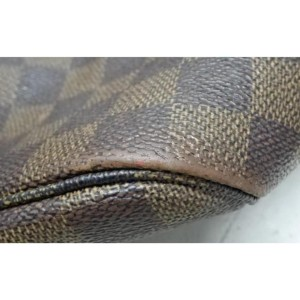 Louis Vuitton Damier Ebene Neverfull MM Tote Bag  858096