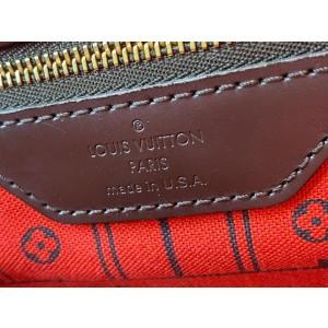 Louis Vuitton Damier Ebene Neverfull MM Tote Bag 862155