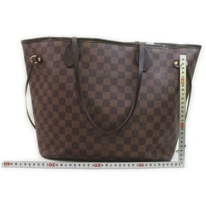 Louis Vuitton Damier Ebene Neverfull MM Tote Bag 862247