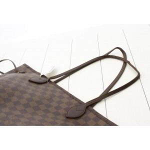 Louis Vuitton Damier Ebene Neverfull MM Tote Bag  862460