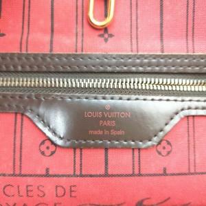 Louis Vuitton Damier Ebene Neverfull MM Tote Bag 862468