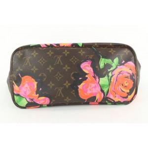 Louis Vuitton Stephen Sprouse Roses Graffiti Neverfull MM Tote Bag 260lvs56
