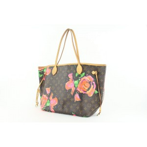 Louis Vuitton Stephen Sprouse Roses Graffiti Neverfull MM Tote bag 60lvs423
