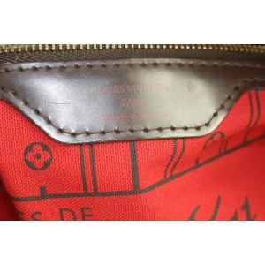 Louis Vuitton Large Damier Ebene Neverfull GM Tote bag 719lvs323