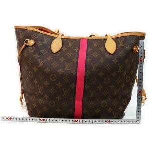 Louis Vuitton Mon Monogram Neverfull MM Tote Bag 862287