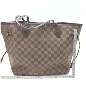 Louis Vuitton Damier Ebene Neverfull MM Tote Bag 862441