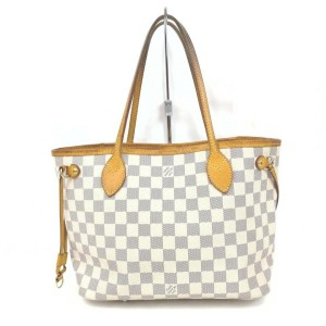 Louis Vuitton Damier Azur Neverfull PM Tote Bag 862188