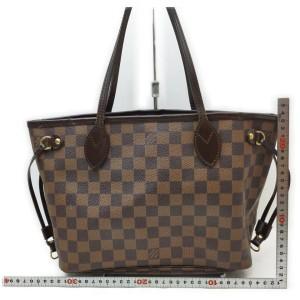 Louis Vuitton Damier Ebene Neverfull PM Tote 862250