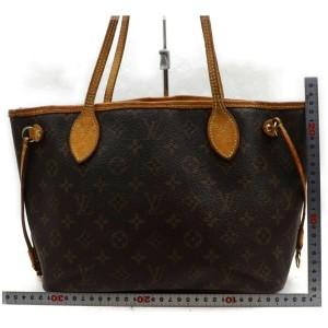 Louis Vuitton Small Monogram Neverfull Bag Tote Bag 862936