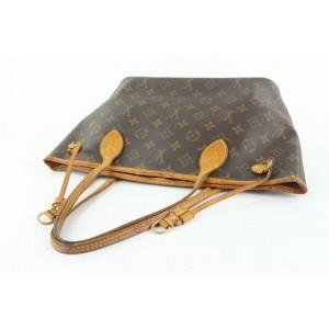 Louis Vuitton Small Monogram Neverfull PM Tote Bag 53lvs423
