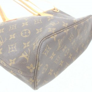 Louis Vuitton Small Monogram Neverfull PM Tote Bag 862334