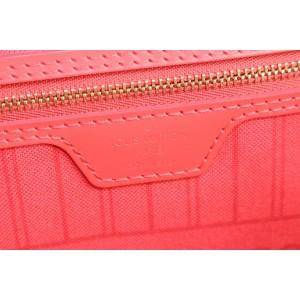 Louis Vuitton Ultra Rare Fuchsia PinkTotem Neverfull MM Tote Bag 929lvs415
