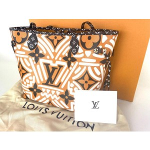 Louis Vuitton Crafty Neverfull MM Tribal Monogram African Rare Limited 4lva85r